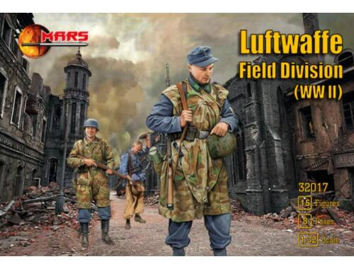 Mars Figures WWII Luftwaffe field division 1:32 (32017)
