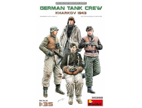 MiniArt German Tank Crew.Kharkov 1943 1:35 (35280)
