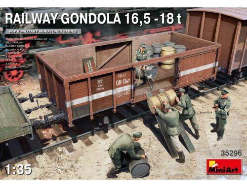 MiniArt Railway Gondola 16,5-18 t 1:35 (35296)