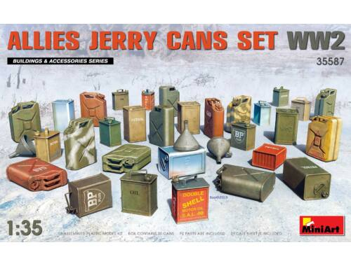 MiniArt Allies Jerry Cans Set WW2 1:35 (35587)