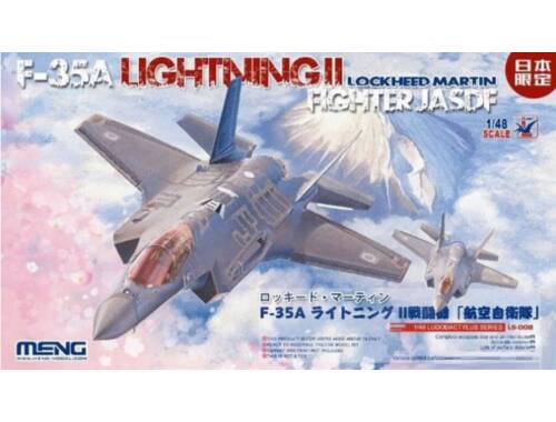 Meng Lockheed Martin F-35A Lightning II Fight JASDF 1:48 (LS-008)