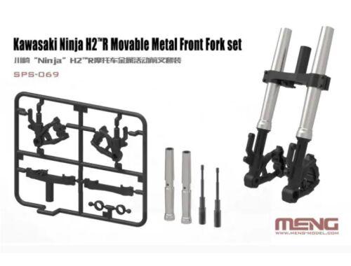Meng Kawasaki Ninja H2(TM)R Movable Metal Front Fork Set 1:9 (SPS-069)