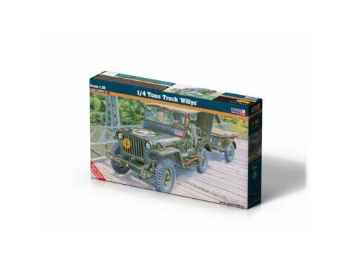 Mistercraft 1/4 Tonn Truck 'Willys' 1:35 (F-299)