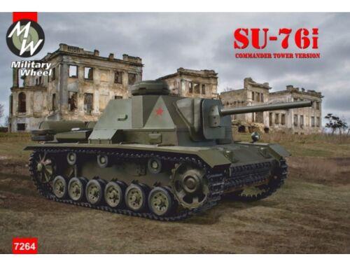 Military Wheels Su-76i commander tower version 1:72 (MW7264)
