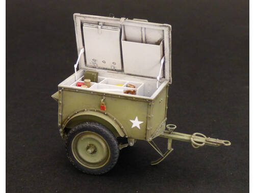 Plus model U.S.Telephone trailer K-38 1:35 (538)