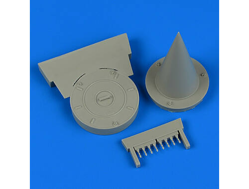 Quickboost MiG-21 FOD covers for Trumpeter 1:32 (32220)
