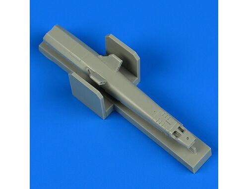 Quickboost MiG MF gun pod-early v. for Trumpeter 1:32 (32221)