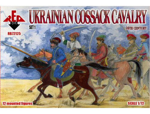 Red Box Ukrainian Cossack cavalry,16th century, set 1 1:72 (72125)