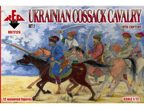 Red Box Ukrainian Cossack cavalry,16th century, set 2 1:72 (72126)