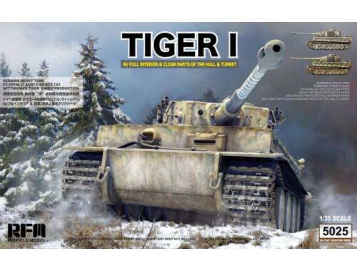 Rye Field Model Tiger Early Production w/full interior 1:35 (5025)