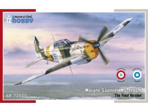 Special Hobby Morane Saulnier MS-410C.1 The Final Version 1:72 (72405)
