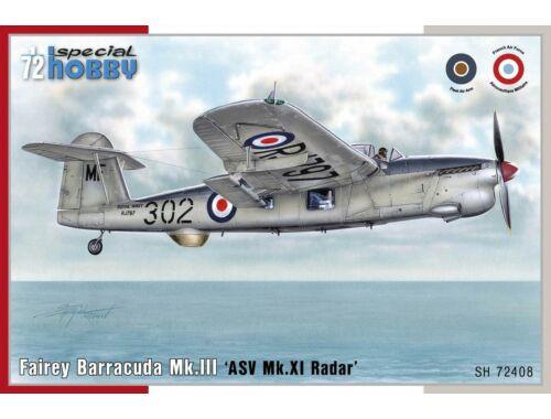 Special Hobby Fairey Barracuda Mk.III'ASW MK.XI Radar 1:72 (72408)