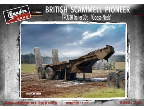 Thundermodels Scammell Late Goose Neck Trailer 1:35 (35208)