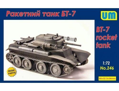 Unimodels BT-7 rocket Tank 1:72 (UM246)
