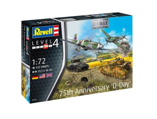 Revell 75 Years D-Day Set 1:72 (3352)