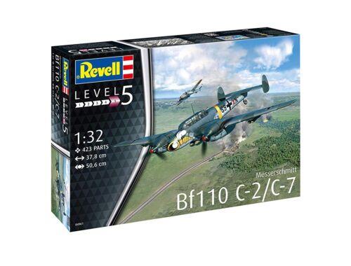 Revell Messerschmitt Bf110 C-7 1:32 (4961)