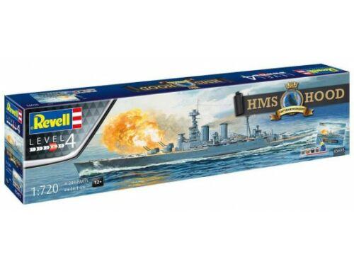 Revell Gift Set100 Years HMS Hood 1:720 (5693)
