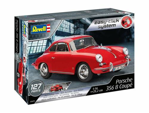Revell Porsche 356 Coupe Easy-Click 1:16 (7679)