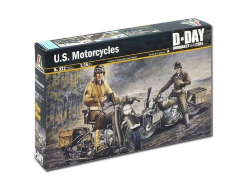 Italeri U.S. Motorcycles 1:35 (0322)