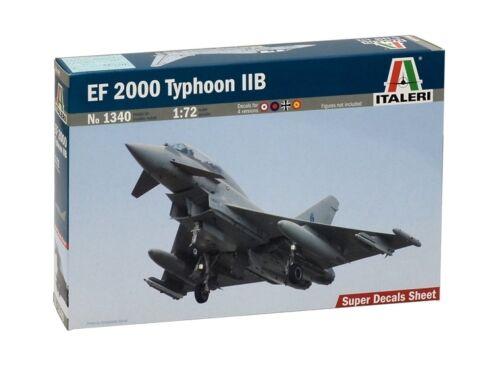 Italeri EF 2000 Typhoon IIB 1:72 (1340)