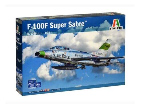 Italeri F-100F Super Sabre 1:72 (1398)