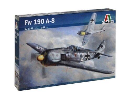 Italeri Focke Wulf FW-190 A-8 1:48 (2751)