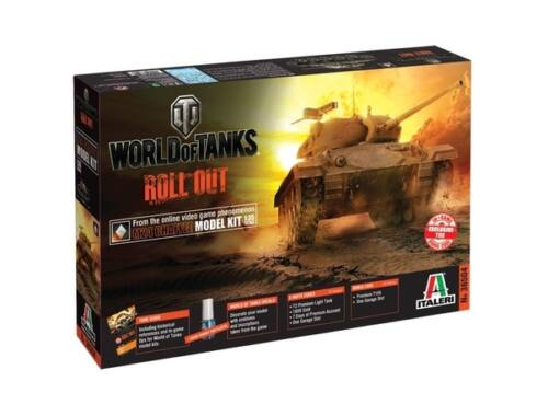 Italeri M24 CHAFFEE World of Tanks 1:35 (36504)