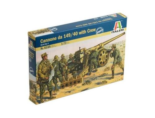 Italeri Cannone da 149/40 with Crew 1:72 (6165)
