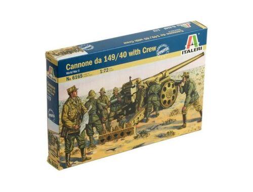 Italeri Cannone da 149/40 with Crew 1:72 (6165)