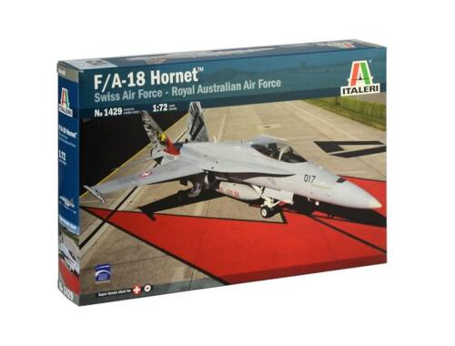 Italeri F/A-18 Hornet Swiss Air Force/RAAF 1:72 (1429)
