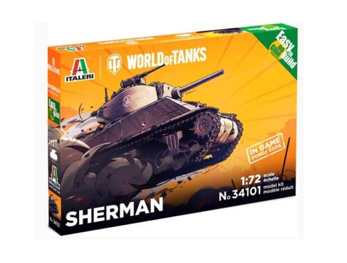 Italeri Sherman World of Tanks 1:72 (34101)