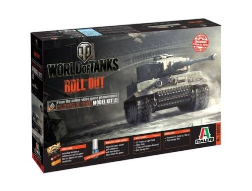 Italeri Pz.Kpfw.VI TIGER World of Tanks 1:35 (36502)