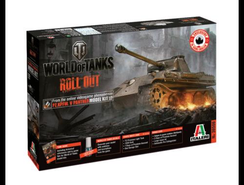 Italeri Pz.Kpfw.V Panther World of Tanks 1:35 (36506)