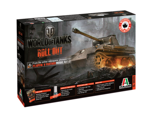 Italeri Pz.Kpfw.V Panther World of Tanks 1:35 (36506)