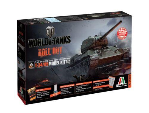 Italeri T-34/85 World of Tanks 1:35 (36509)