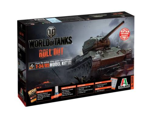 Italeri T-34/85 World of Tanks 1:35 (36509)