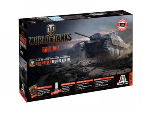Italeri 38(t) Hetzer World of Tanks 1:35 (36511)