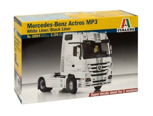 Italeri Mercedes-Benz Actros MP3 White Liner/Black Liner 1:24 (3884)