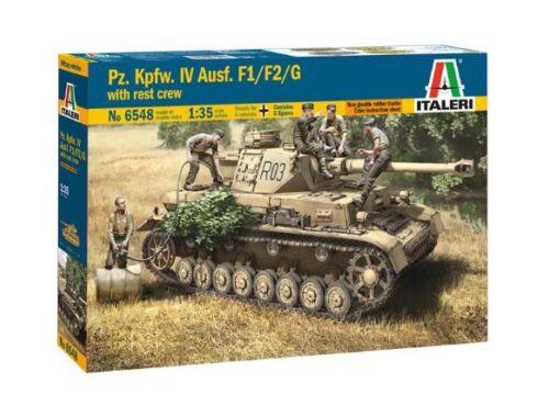 Italeri Pz.Kpfw.IV Ausf.F1/F2/G with Rest Crew 1:35 (6548)
