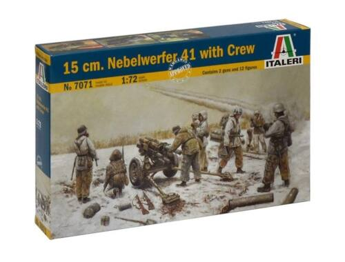 Italeri 15cm Nebelwerfer 41 with Crew 1:72 (7071)