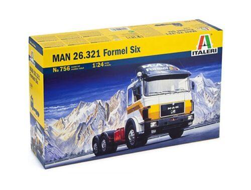 Italeri MAN 26.321 Formel Six 1:24 (756)