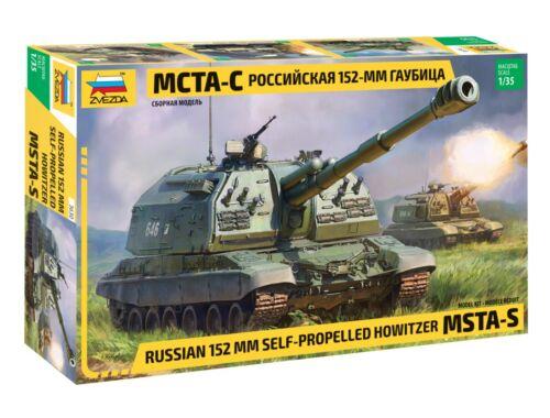 Zvezda MSTA-S Russian 152mm SPH 1:35 (3630)
