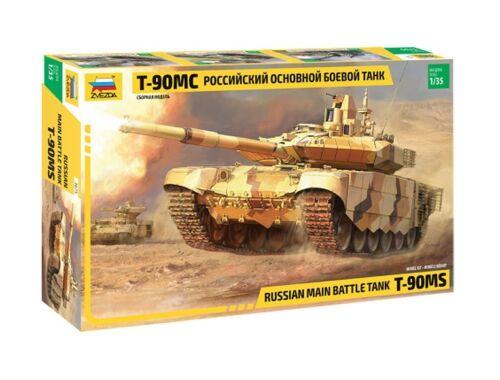 Zvezda T-90 MS Russian MBT 1:35 (3675)