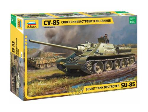 Zvezda SU-85 Soviet Tank Destroyer 1:35 (3690)