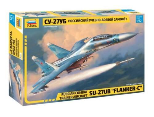 Zvezda Sukhoi SU-27UB Flanker C 1:72