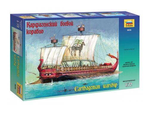 Zvezda Carthagenian Warship 1:72 (9030)