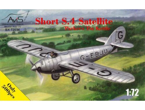Avis Short S.4 SatelliteParkers Tin Kettle 1:72 (72034)