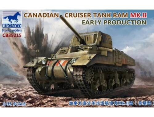 Bronco Models Canadian Cruiser Tank Ram MK.II Early Produktion 1:35 (CB35215)