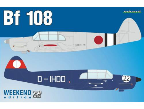 Eduard Bf 108 Weekend Edition 1:48 (8479)