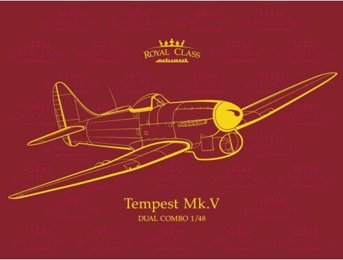 Eduard Tempest MK.V Royal class 1:48 (R0018)